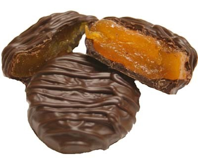 Chocolate Covered Apricots 1lb.