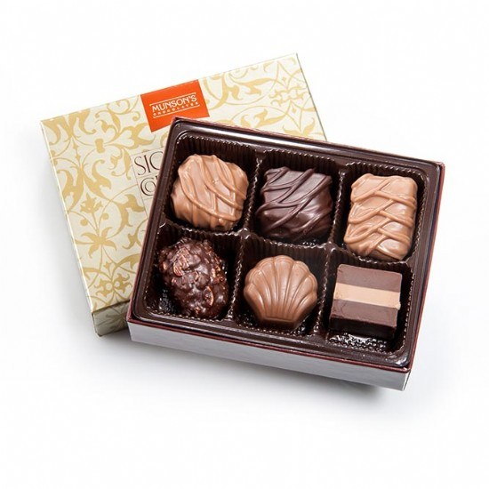 6 Piece Chocolate Assortment