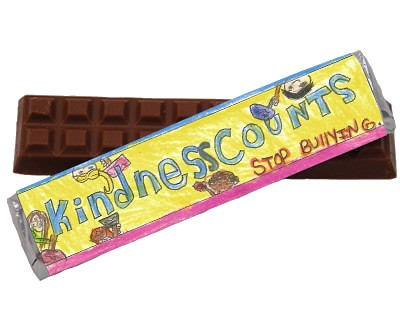 Kindness Counts Youth Leadership Anti Bully Chocolate Bar