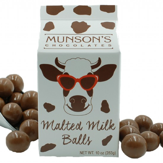 Malted Milk Ball Cow Box Tote 10 oz.