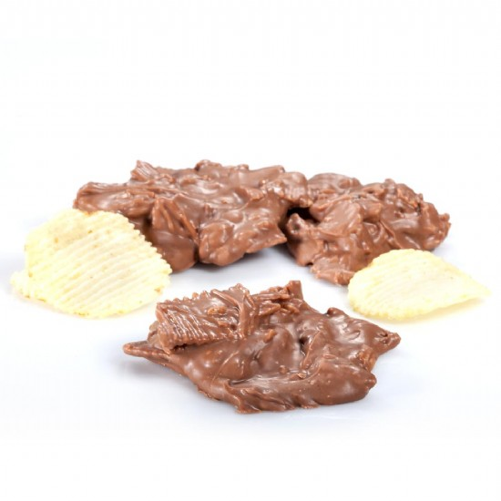 Milk Chocolate Potato Chip Bark 1 lb.