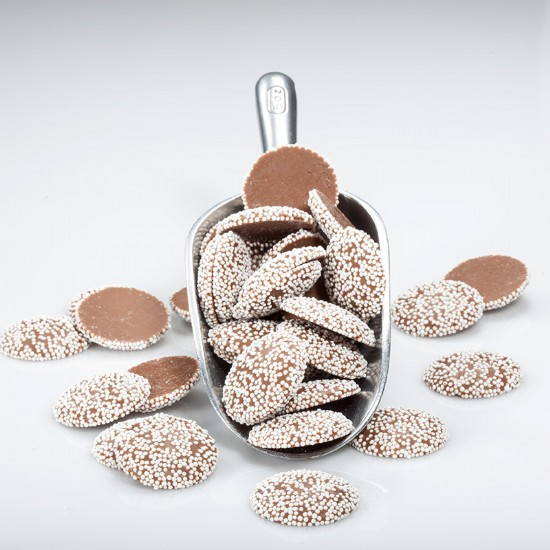 Milk Chocolate Non Pareils 1 lb.