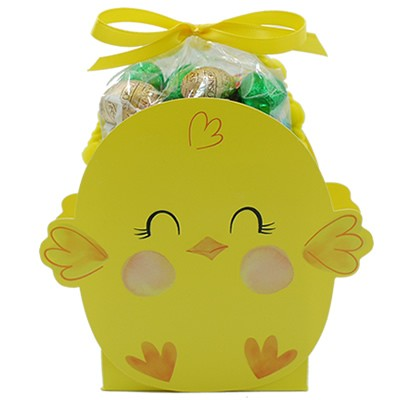 Chick Bag with foiled Milk Chocolate Eggs  3 oz.