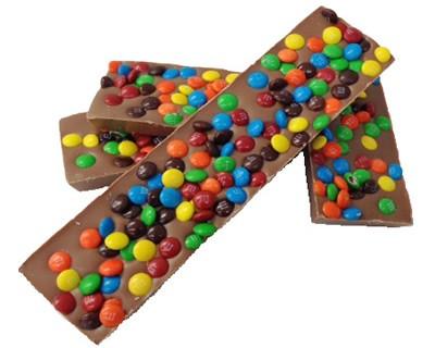 Milk Chocolate Fun Bar 4 Oz Munsons Chocolates