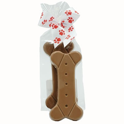 Milk Chocolate Dog Bone 2 oz