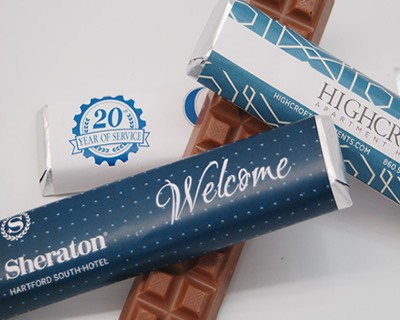Milk Chocolate Bar With Custom Wrapper Munsons Chocolates