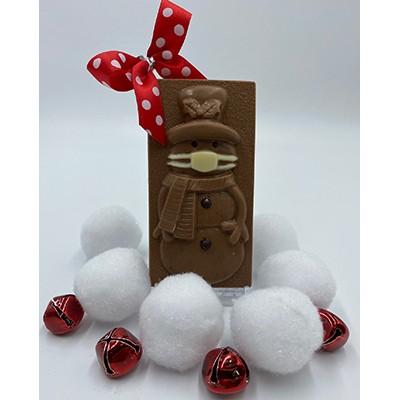 Mr Jingles Snowman With Mask 2 75 Oz Munsons Chocolates