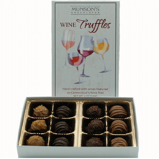Connecticut Wine Trail Chocolate Truffles