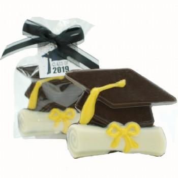 Chocolate Cap and Diploma