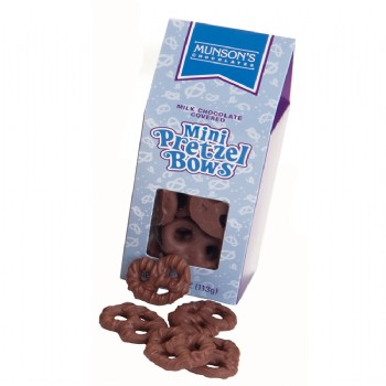 Milk Chocolate Mini Pretzel Tote 4 oz.