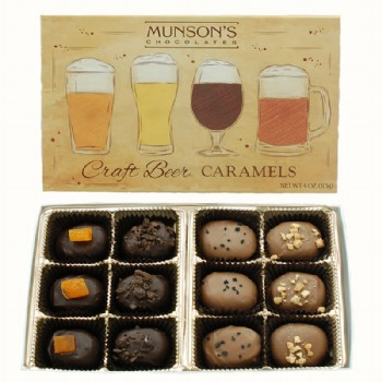 Craft Beer Caramels 4.5 oz.