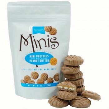 Mini Peanut Butter Pretzels 6 oz.