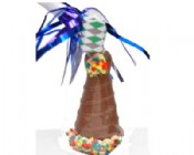 Milk Chocolate Party Hat 2 oz.