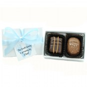 Chocolate Assortment 2 piece w hang tag