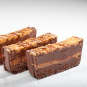 Chocolate Sea Salt Caramel Fudge 1 lb.
