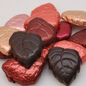 Dark Chocolate Foiled Leaves 1 lb.