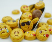 Milk Chocolate Foiled Emojis 1 lb.