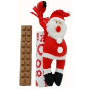 Milk Chocolate Bar with Santa Magnet 1.5 oz.