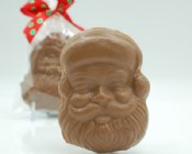 Chocolate Santa Face 2 oz.