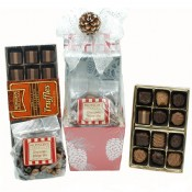 Winter Forest Chocolate Basket 20 oz.
