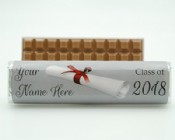 Custom Graduation Milk Chocolate Bar