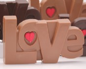 Chocolate Love with Candy Heart