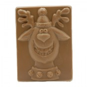 Milk Chocolate Smiling Reindeer 1.75 oz.